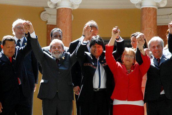 Lula é esperança de unidade também na América Latina