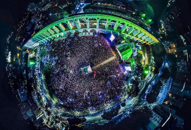 Festival Lula Livre reúne 60 mil pessoas no Rio de Janeiro