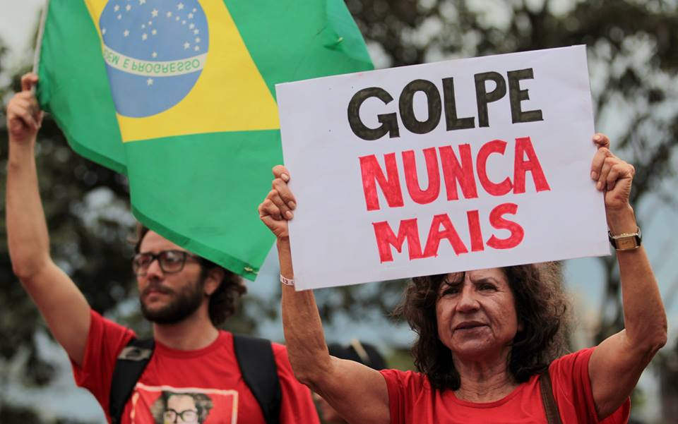 We must stand for democracy and social progress in Brazil