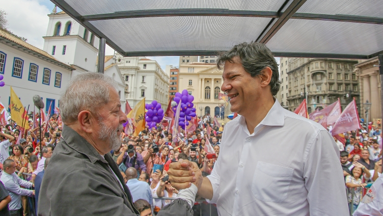 Carta de Lula a Haddad