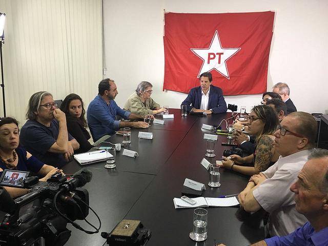 """Haddad alerta para o risco de uma """"ditadura nas formas contemporâneas"""" em 2019"""