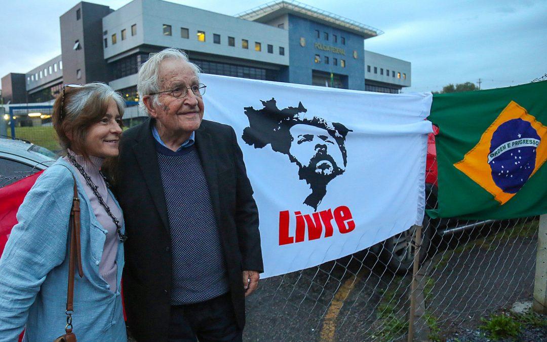 Chomsky's letter to Lula