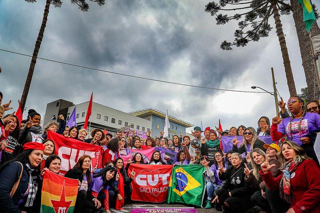 Vigília Lula Livre resiste, em defesa de um projeto popular