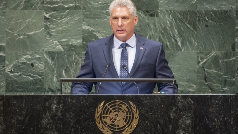 Assembleia Geral da ONU: Presidente cubano condena a prisão política de Lula