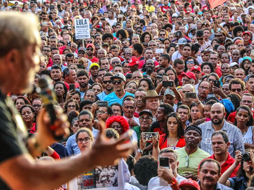 Carta de Lula sobre o segundo turno das eleições