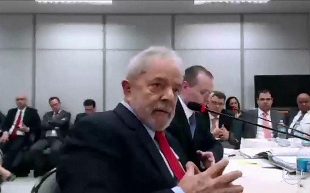 Não tem prova, não tem crime: resumo do depoimento de Lula