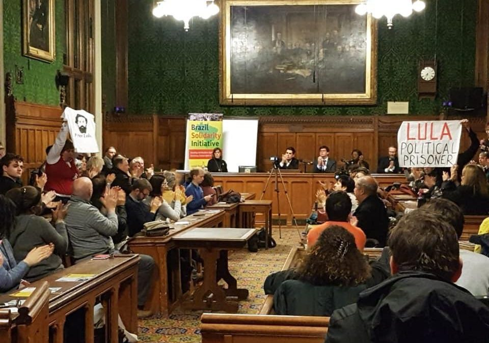 Brazilian Solidarity Initiative at the House of Commons