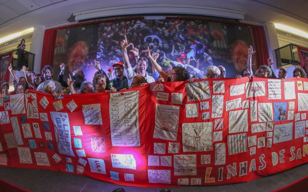 Líderes de Brasil, América Latina e Europa denunciam perseguição a Lula