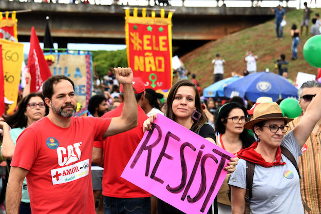 Brazilians Study the Anti-Trump Playbook to Fight Bolsonaro