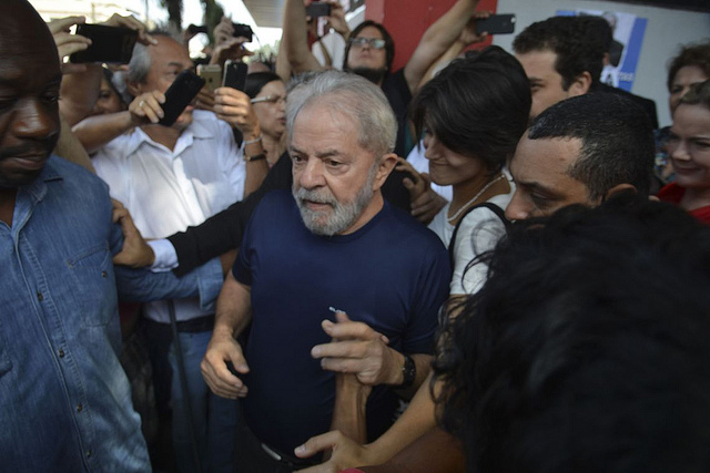 Vergonha: segunda condenação política a Lula