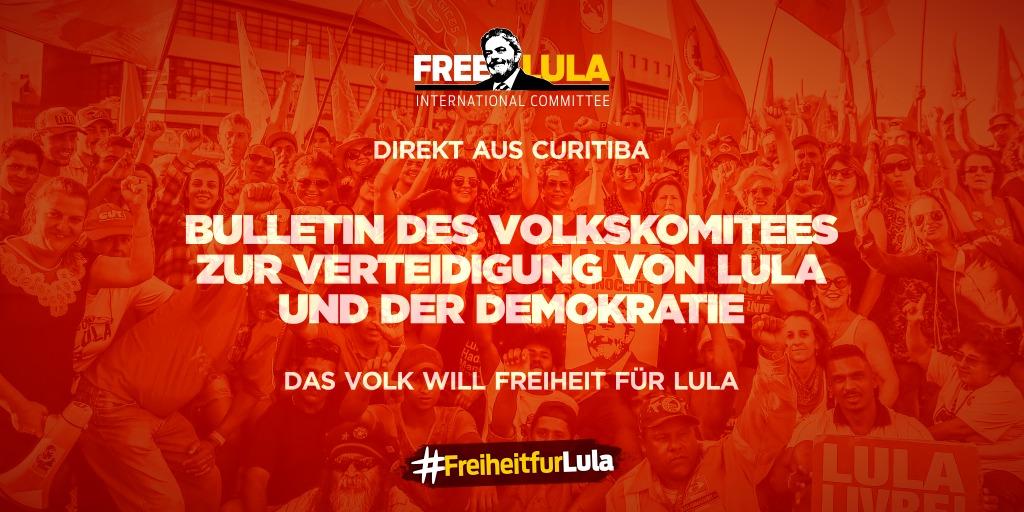 Bulletin 371 – Volkskomitee zur Verteidigung von Lula und der Demokratie