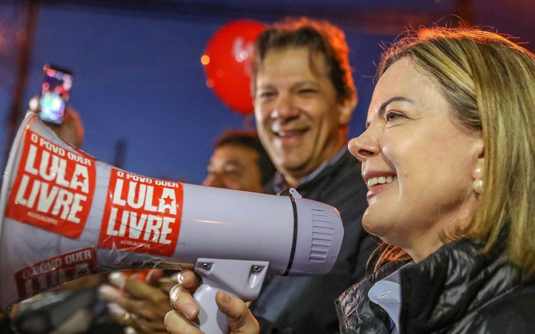 Gleisi e Humberto Costa se encontram com Eurodeputados para debater a situação do Brasil e de Lula