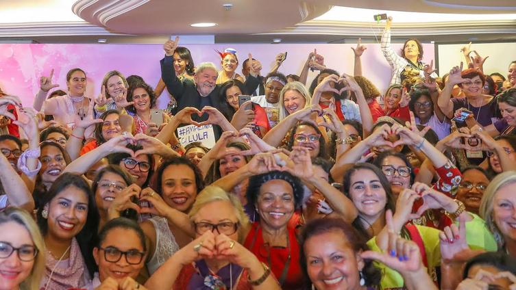 8 de Março também é dia de Lula Livre, por tudo que representa para as mulheres