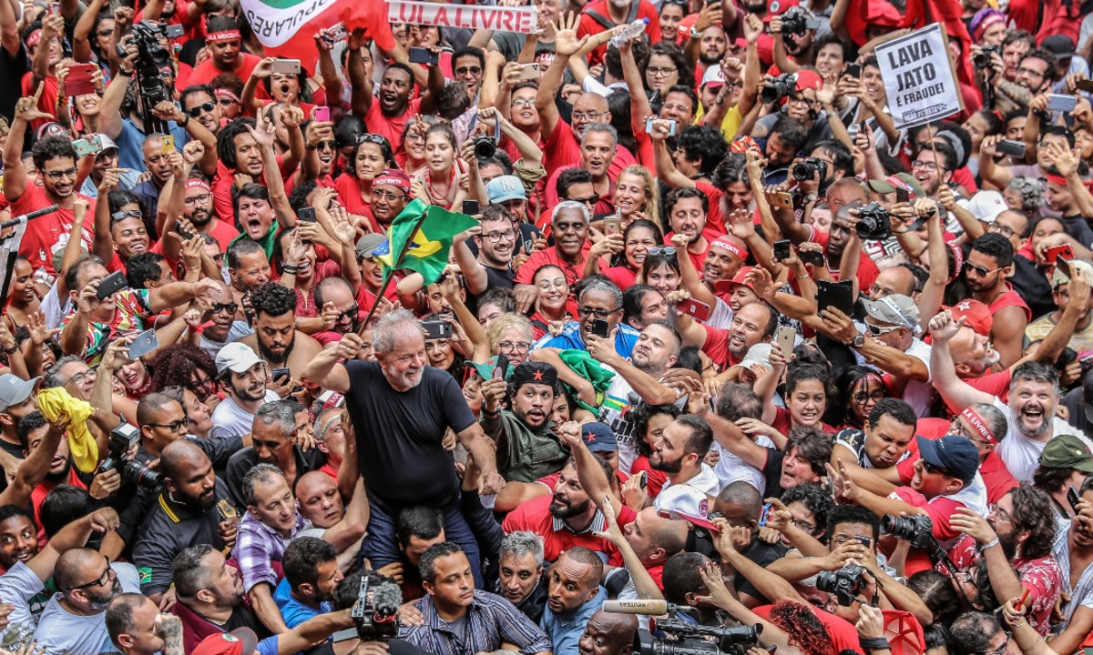 Lula ist frei!